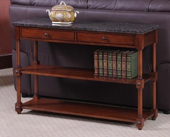 sofa table granite top 3