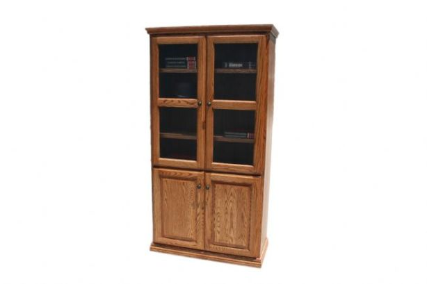 oak bookcase design